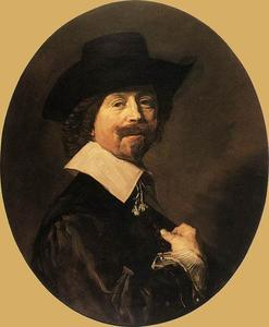 Frans Hals - Botas retrato of un Man6