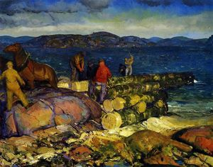 George Wesley Bellows - Muelle Constructores