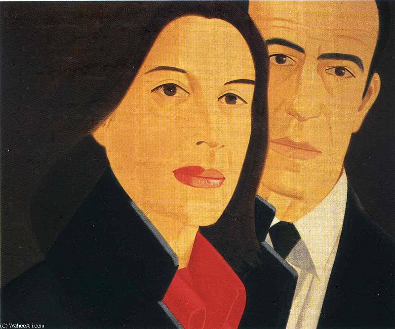 famous painting sin título (4339) of Alex Katz