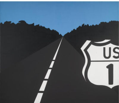 famous painting Sin título 698   of Allan D'arcangelo