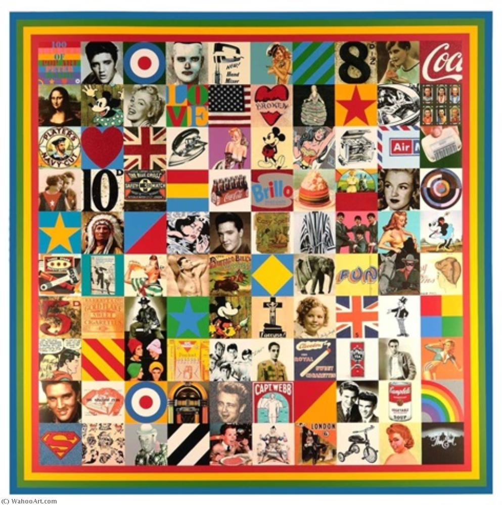 famous painting 100  fuentes  todaclasede  estallido  arte  of Peter Blake