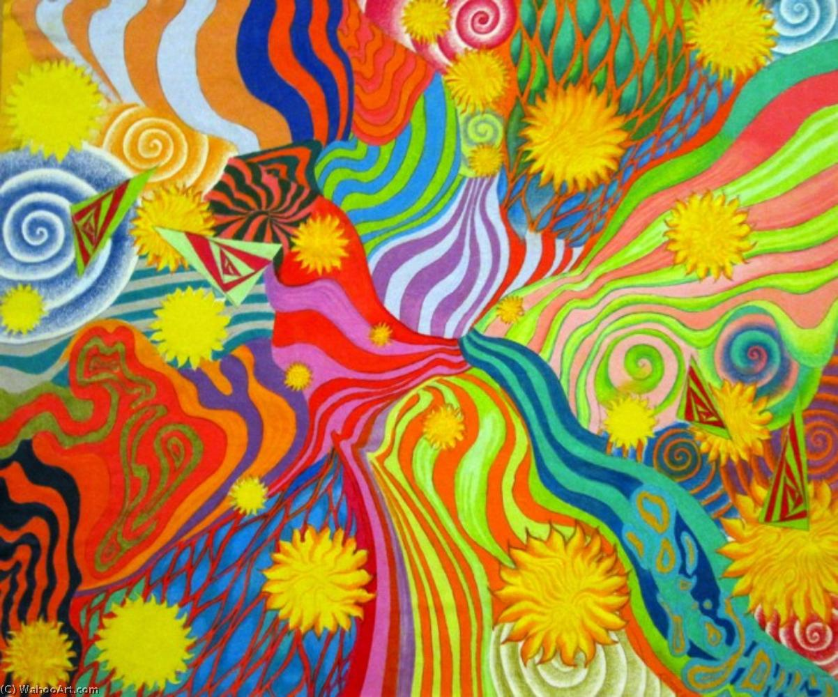 famous painting Sol Ensueño  of Peter Max