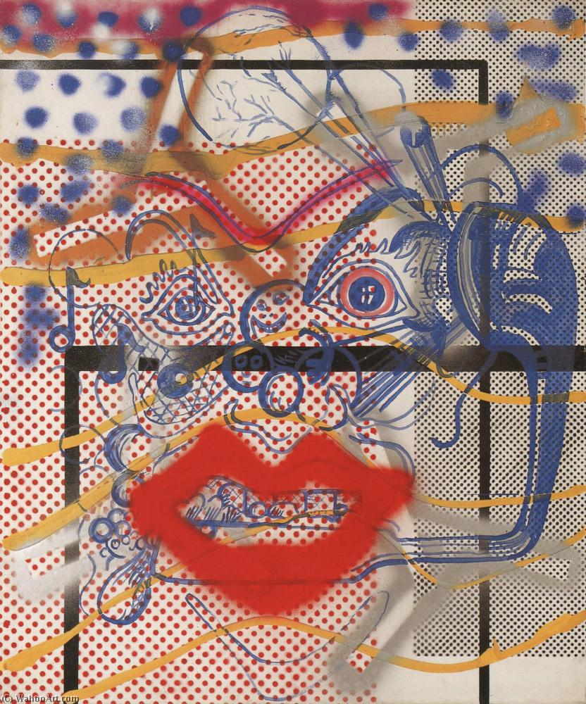 famous painting Coartadas of Sigmar Polke