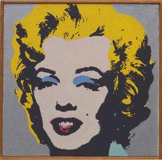 famous painting andy warhol , marilyn monroe , 1964 of Richard Pettibone